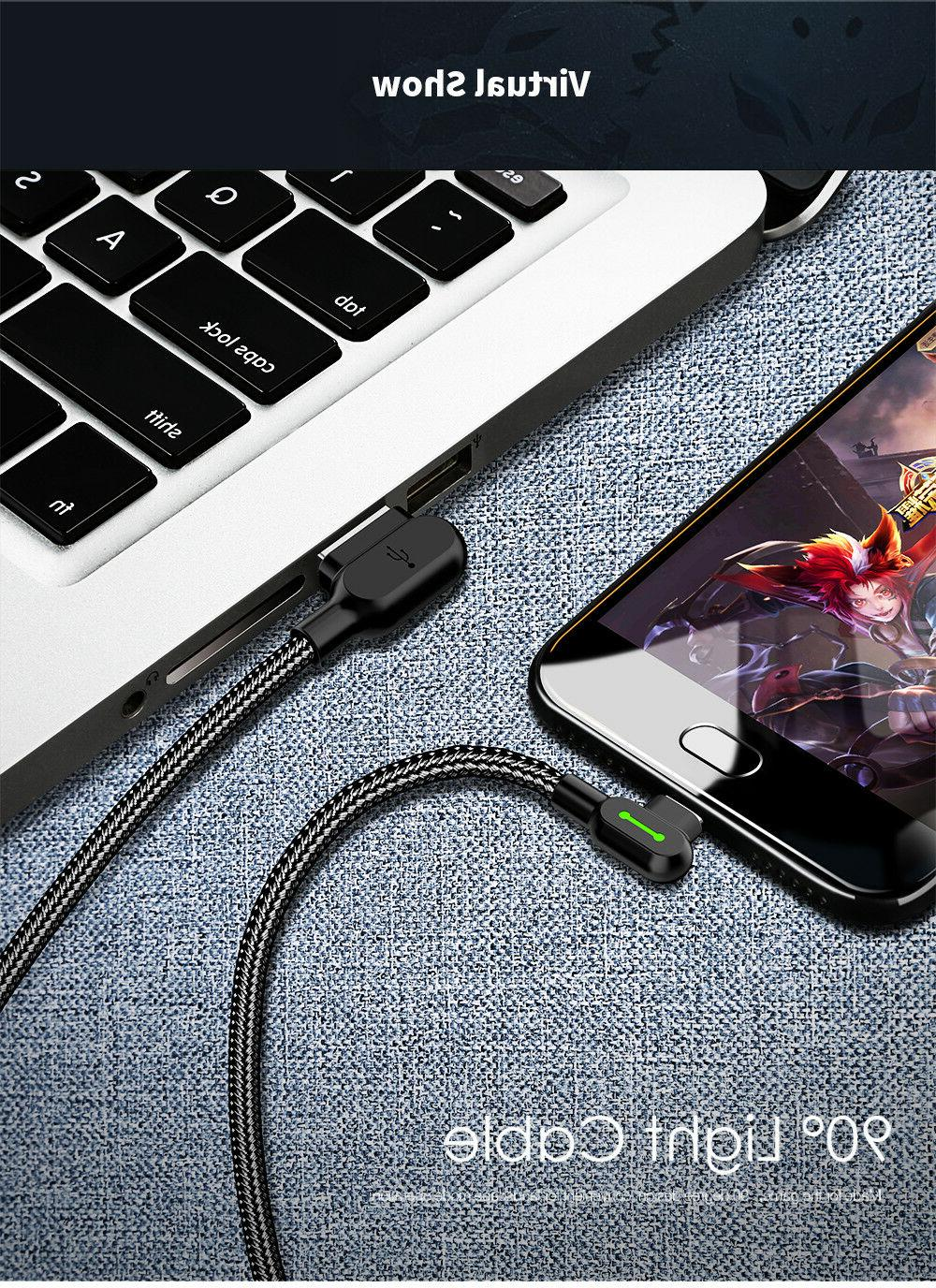 MCDODO Degree Angle Charging Sync Type Cable Cord
