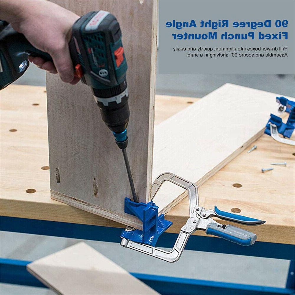 2x Angle Clamp Wood Kreg Clamps Tool