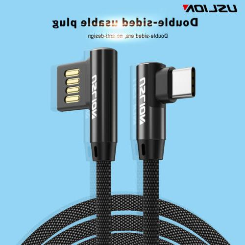 90 Degree Right Angle L Type C/ Android / Micro USB Fast Dat