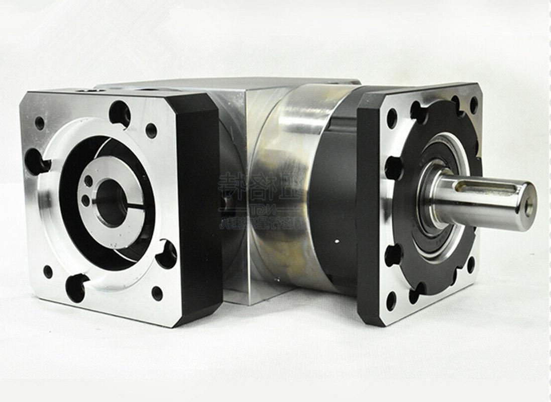 90 degree right angle planetary 10:1 750w AC motor shaft
