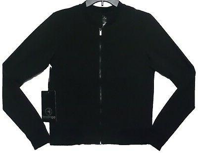 90 Degree Women's Active Wear Full Zip Simply Elegant Black