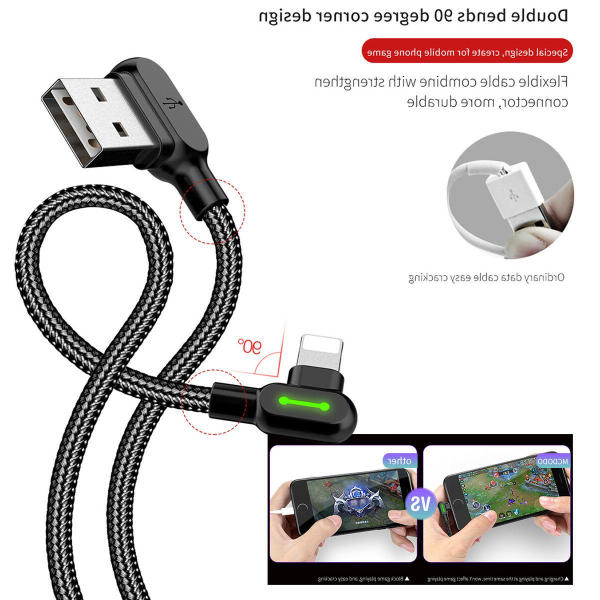 MCDODO 90 Right Angle Charging lightning Cable for i Phone