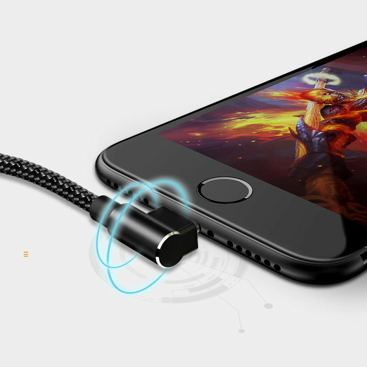MCDODO 90 Degree Lightning USB Charging Data Apple X 8