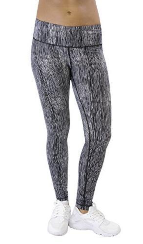 activewear yoga pants peachskin brushed printed leggings