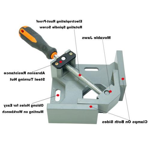 Adjustable 90 Alloy Swing Clamp Right