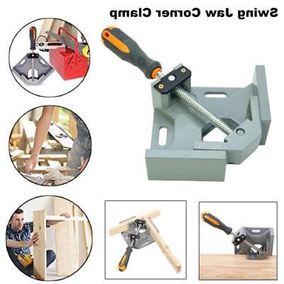 Adjustable 90 Degree Aluminum Alloy Swing Jaw Corner Clamp R