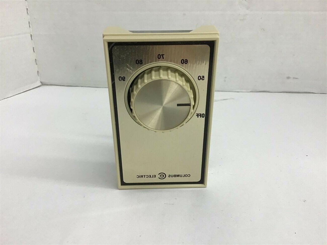 Columbus AET5DW1 Heating Thermostat 50-90 Degree