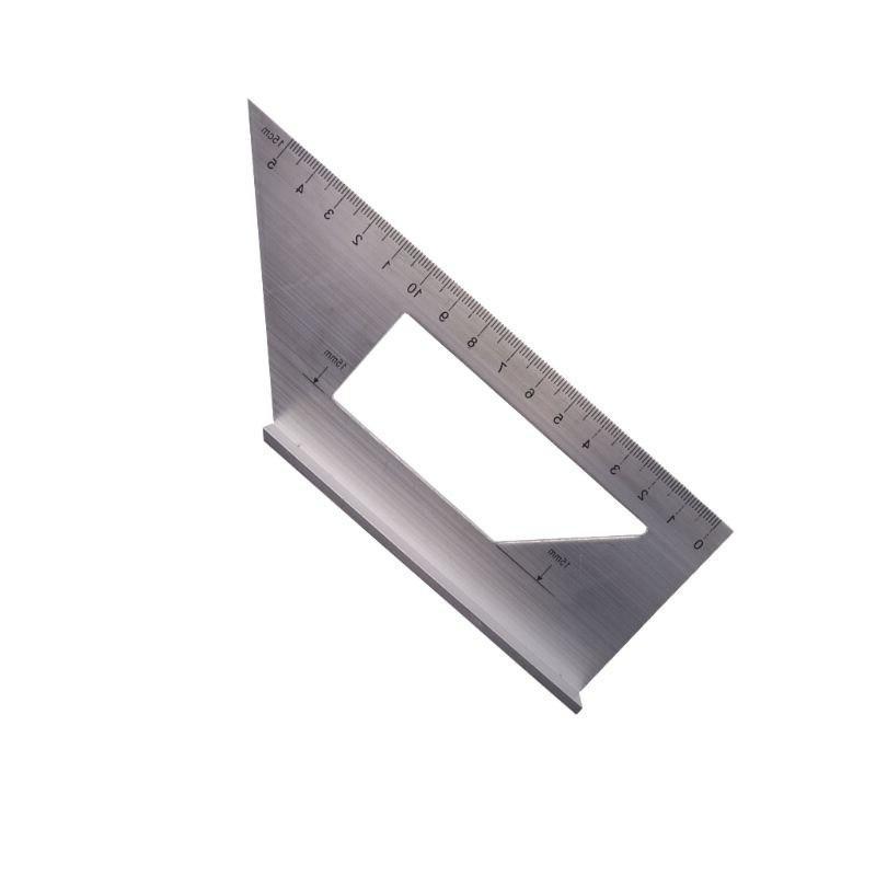Aluminum Alloy Angle <font><b>90</b></font> <font><b>Degree</b></font> Woodworking Gauging Scribe Measuring Tool