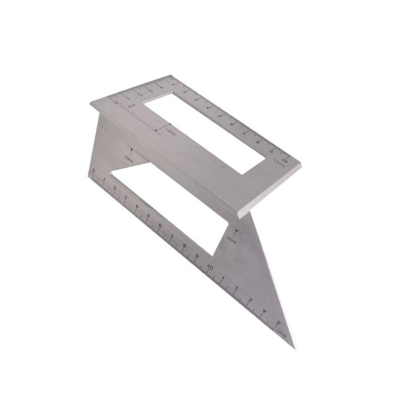 aluminum alloy wooden square angle ruler 45