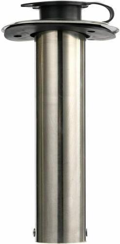 Amarine 90 Degree Boat Steel Rod Holders Rubber Cap