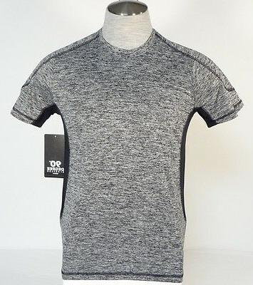 by reflex charcoal short sleeve athletic shirt