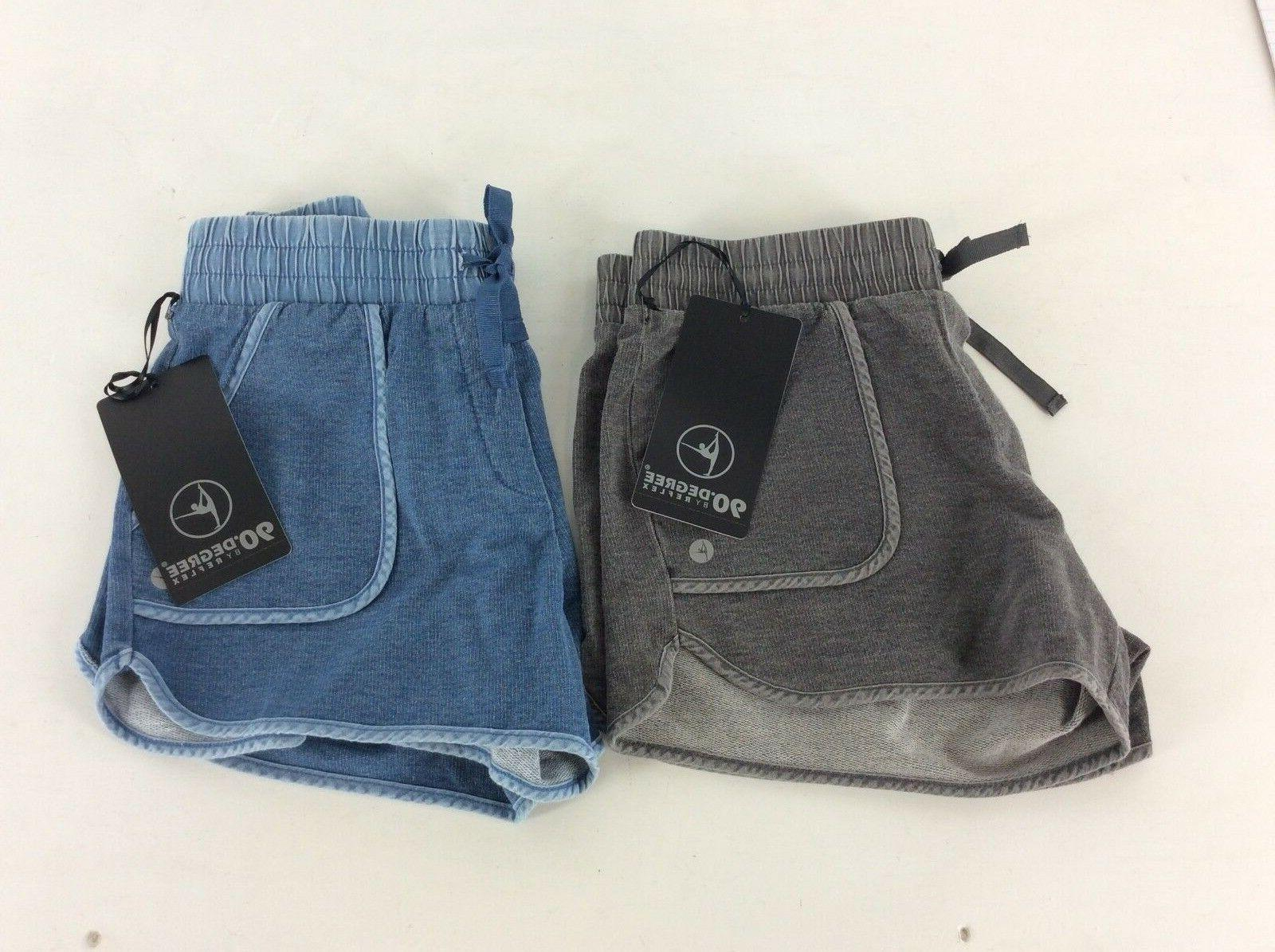 90 DEGREE by Reflex -- Ladies Short Comfy Shorts - MSRP $48