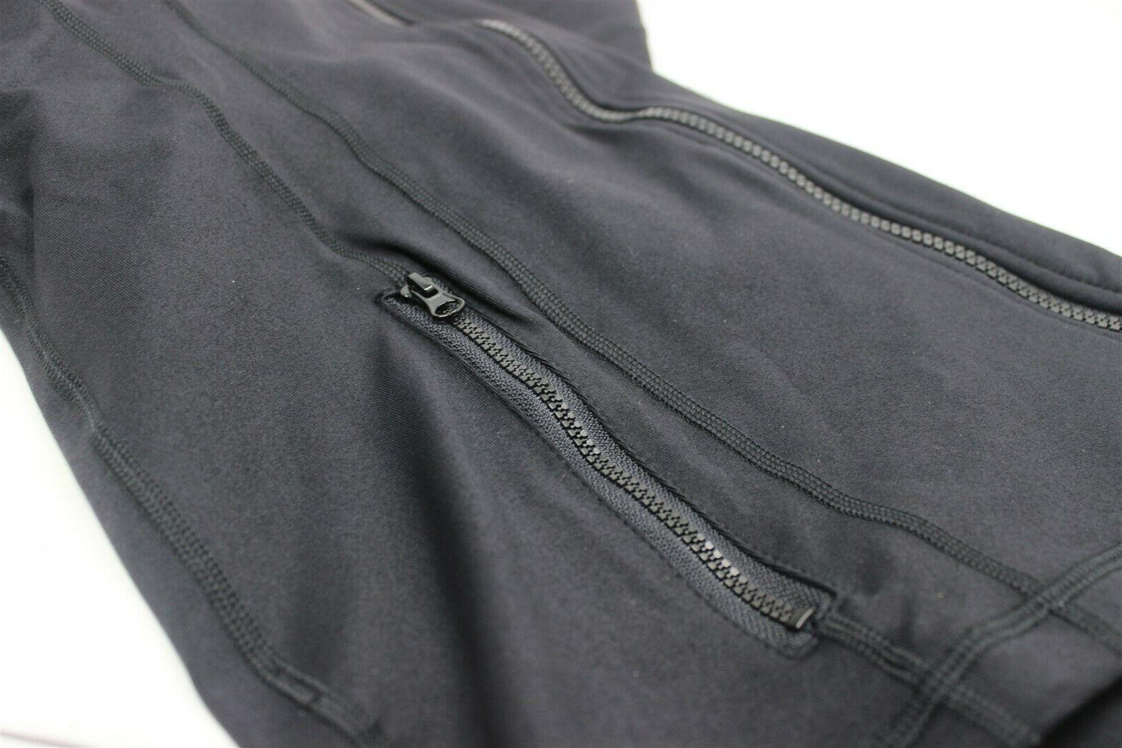 90 Womens Zip BLACK LARGE