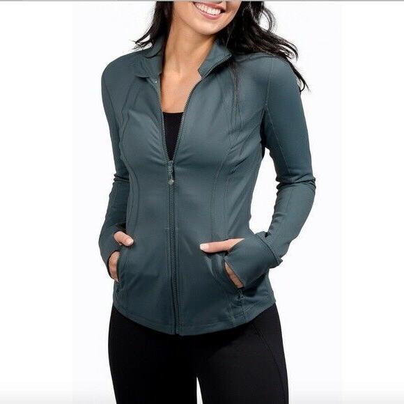 90 Degree By Reflex Women's Size Large Jacket Full NWT $98.00