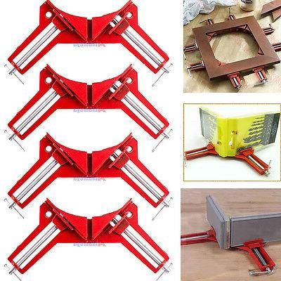 4x 90degree right angle miter picture frame