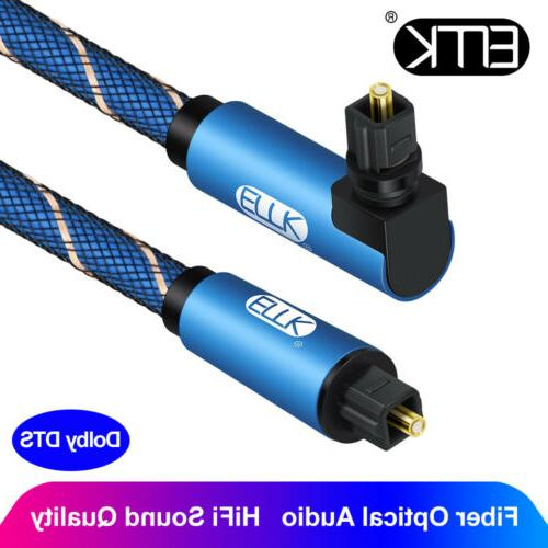 digital optical 90 degree right angle cable