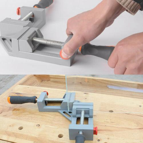 Double Handles 90 Right Woodworking Jigs Quick Corner Clamp