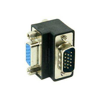 Dwon 90 Degree VGA Male Adapter