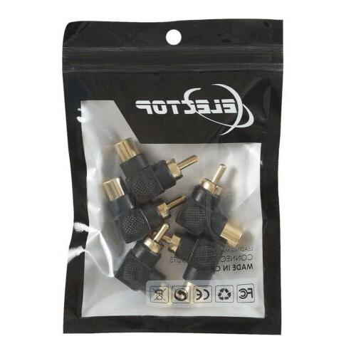 Electop Female Right Adapter 90 Degree