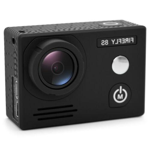 HawKeye Firefly 8S 4K Bluetooth WiFi Action Sports Camera wi