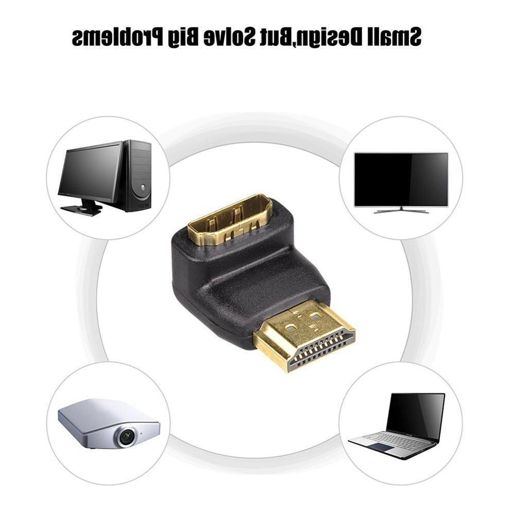 <font><b>HDMI</b></font> <font><b>Adapter</b></font> Converters <font><b>90</b></font>/270 <font><b>Degree</b></font> Converter PC