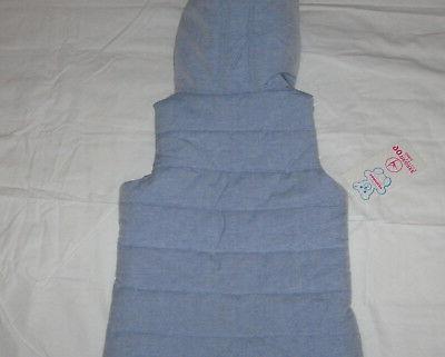 Girls 90 Reflex Full Vest Blue