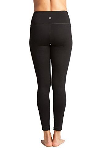90 By High Waist Compression Control Leggings - Black