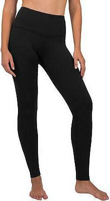 90 Degree By Reflex High Waist Fleece Lined Leggings, Black,