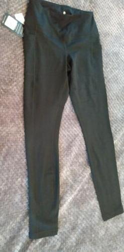 90 Degree By Reflex High Waist Fleece Lined Leggings w/pocke