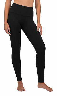 90 Degree By Reflex High Waist Fleece Lined Leggings - Yoga