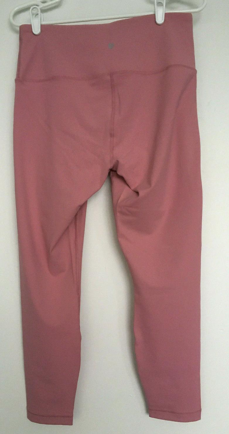 High Interlink Leggings Pink L NWT