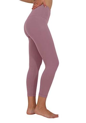 "90 By High Tummy 22"" Interlink Capris"