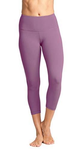 high waist ultra soft lightweight capris high