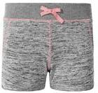 90 Degree by Reflex Kids Girls Knit Comfy Shorts Heather Gre
