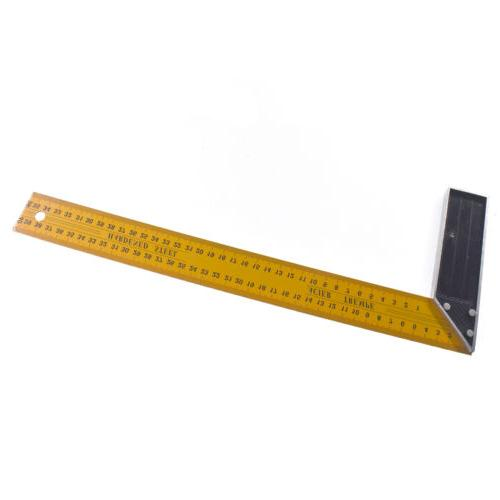L 90 Degree Angle Square Ruler Measuring Tools 16 inche