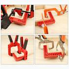 L Shaped 90 Degree Right Angle Corner Clamp Ruler Wood Metal