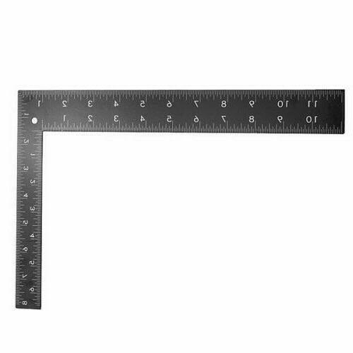 L RULER 90 DEGREE 0-12 INCH + 0-30cm DIY