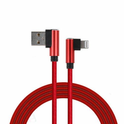 L Style Nylon USB Charging iPhone 6 7 X 8p