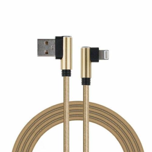 L 90 Nylon USB Charging iPhone 6 7 X 8p