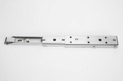 12Inch Length LShape Bracket-Chrome Steel-PAIR