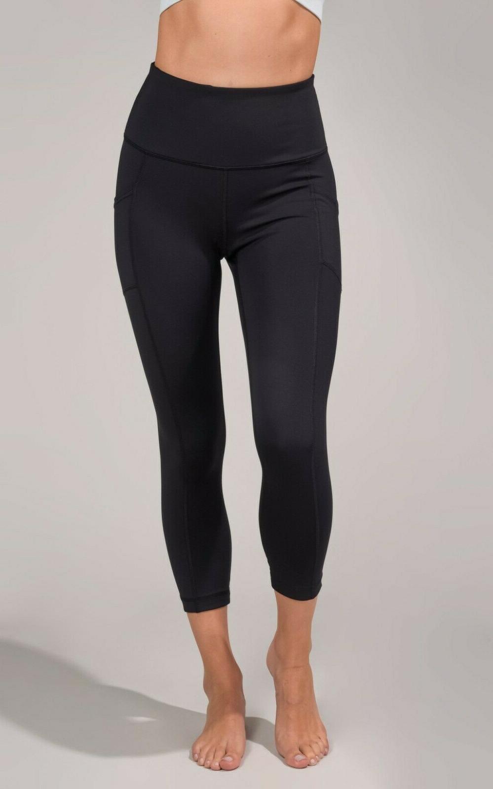 NEW Degree Reflex Waist Pocket Capri Leggings Pants