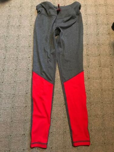 new womens gray active exercise running pants