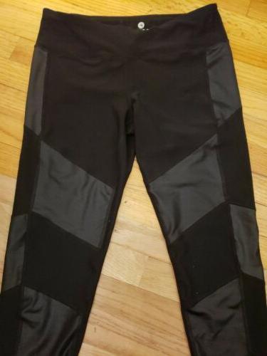 NWOT Reflex Degree Sz LARGE Black leather worn