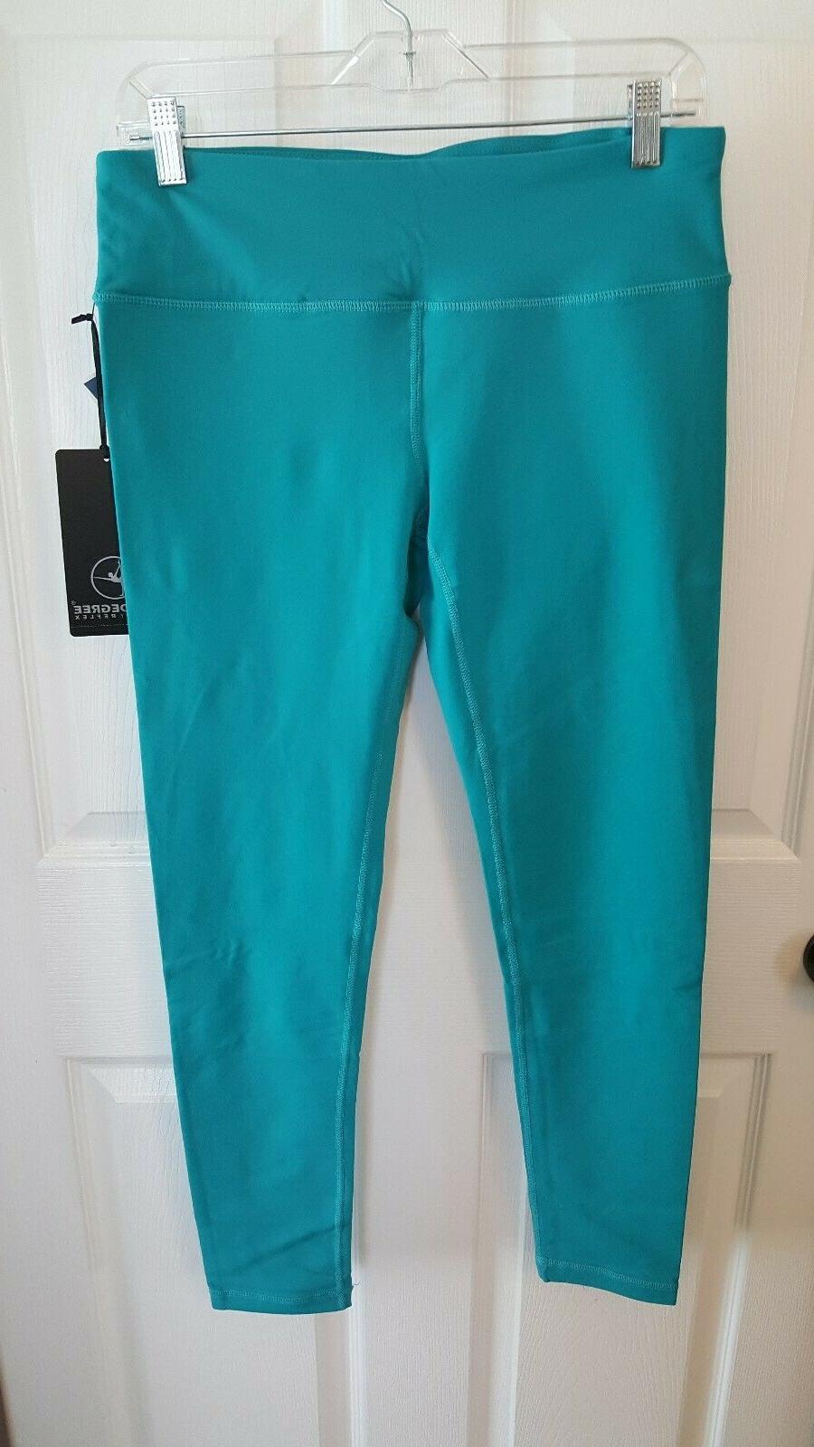 nwt 90 degree by reflex blue activewear
