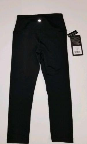 NWT Degree Reflex Flex Capri Legging Inseam Black