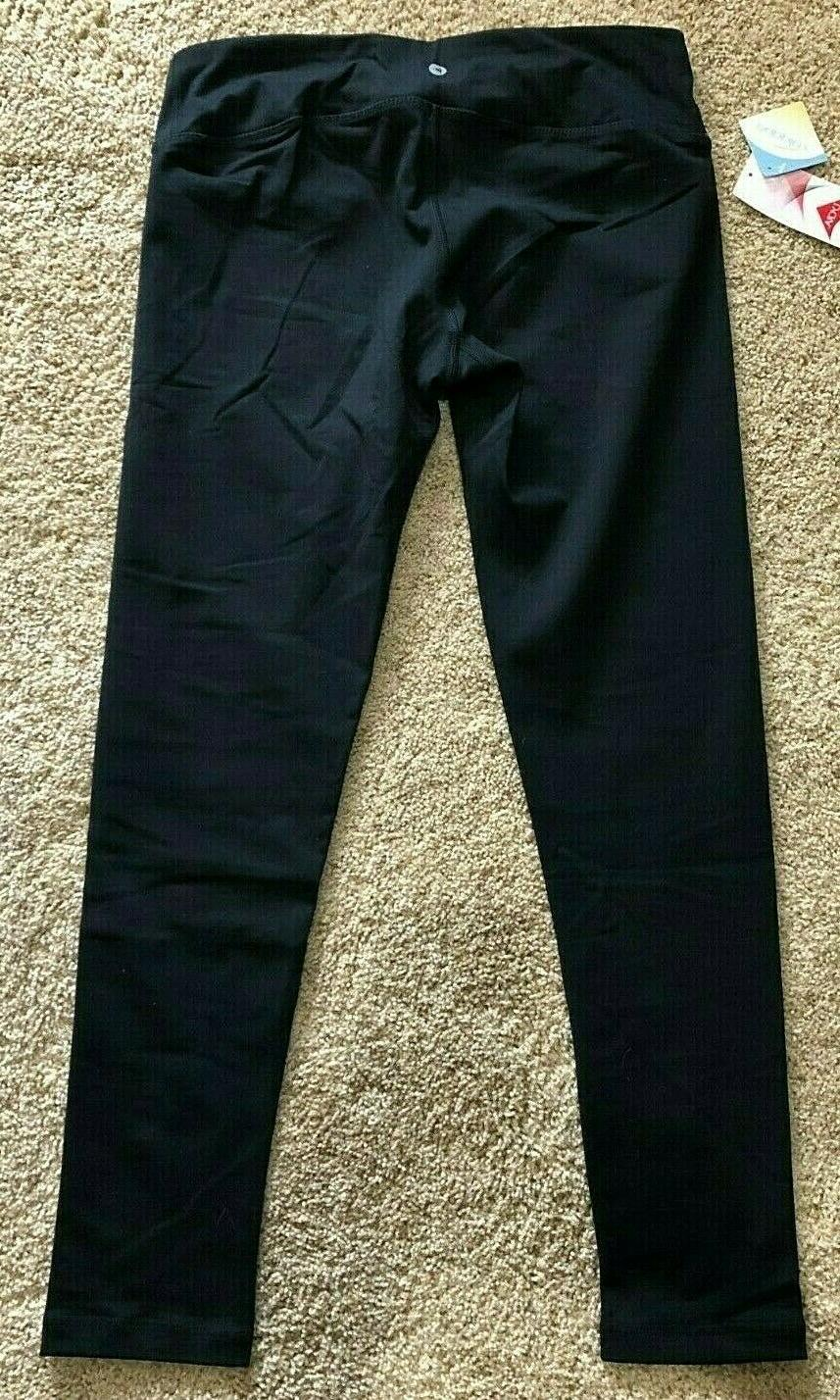 NWT Black 90 Degree by Legging Medium