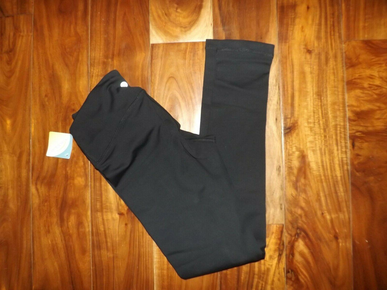 NWT Womens BY REFLEX Black Active Exercise Running L