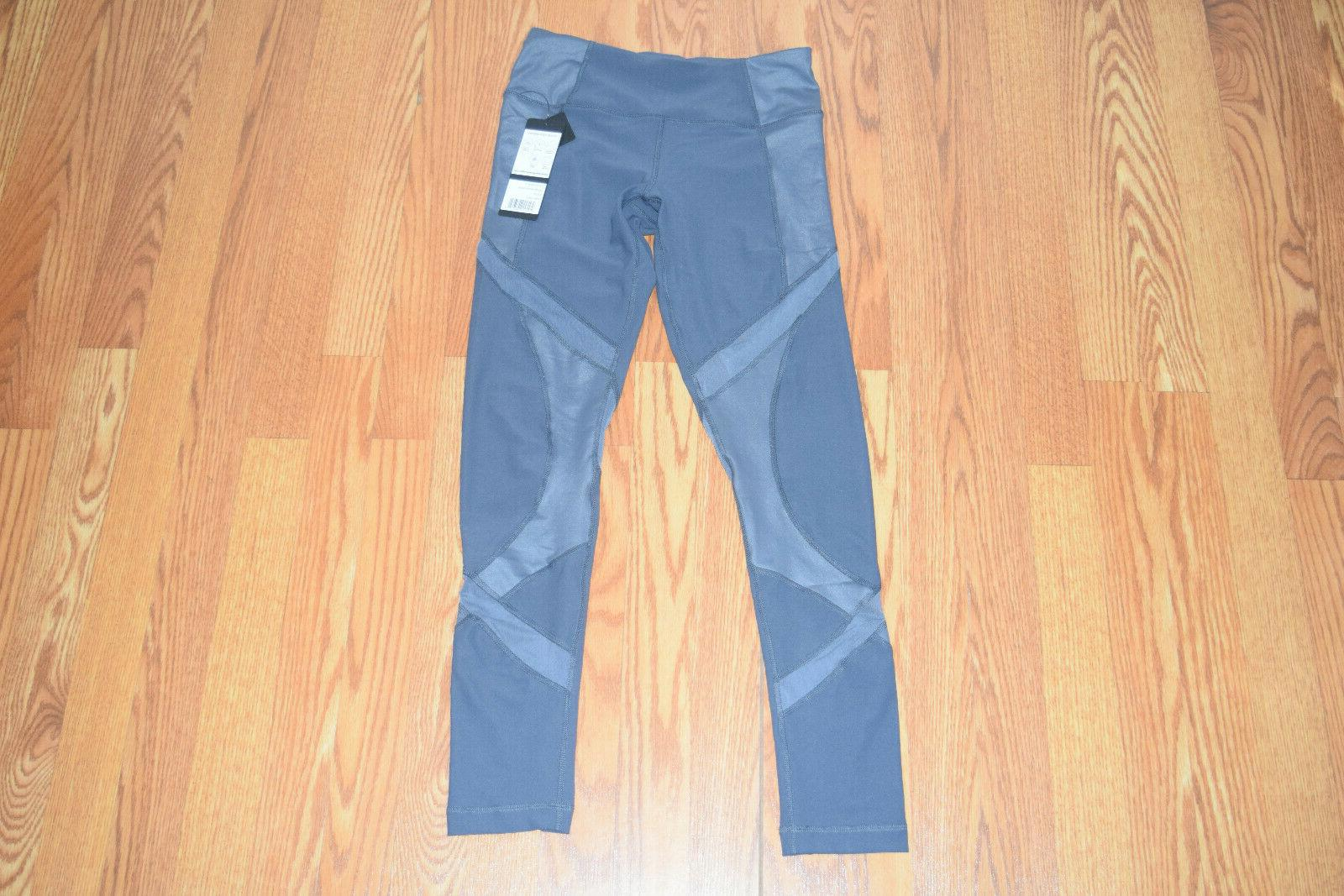 nwt womens gray active exercise running pants
