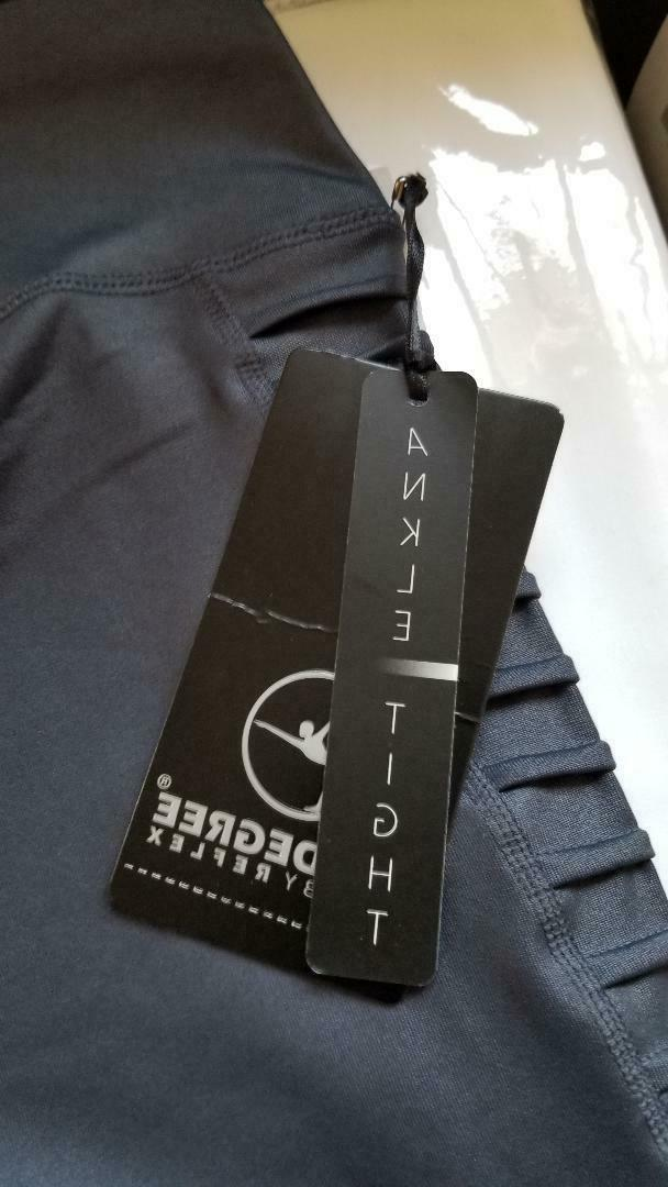 pintuck sides cire legging style pw71901 gunmetal