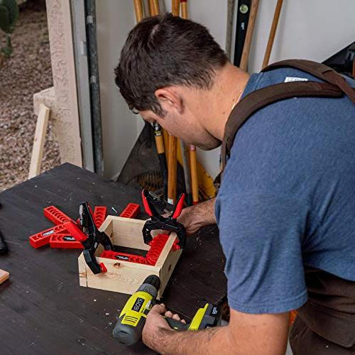 Positioning Woodworking Tool, Clamping Degree for Frames, Boxes, Cabinets or Drawers by TOFL